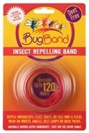 Image of Bug Band - Deet Free Insect Repelling Band Red - 1 Band(s) CLEARANCE PRICED