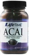 LifeTime Vitamins - Acai High Potency 1200 mg. - 60 Vegetarian Capsules (053232290442)