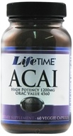 LifeTime Vitamins - Acai High Potency 1200 mg. - 60 Vegetarian Capsules - $9.68