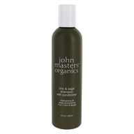 John Masters Organics - Shampoo with Conditioner Zinc and Sage - 8 oz. by John Masters Organics