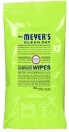 Mrs. Meyer's - Clean Day Pre-Moistened Surface Wipes Lemon Verbena - 24 Wipe(s), from category: Housewares & Cleaning Aids