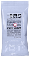 Image of Mrs. Meyer's - Clean Day Pre-Moistened Surface Wipes Lavender - 24 Wipe(s)