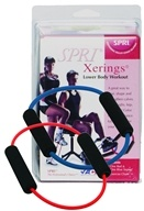 SPRI - Xering Medium and Heavy Resistance Red/Blue - 2 Band(s) by SPRI