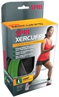 SPRI - Xercuff Light Resistance Band Green