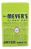 Image of Mrs. Meyer's - Clean Day Dryer Sheets Lemon Verbena - 80 Sheet(s)
