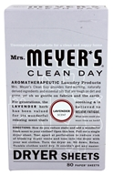 Mrs. Meyer's - Clean Day Dryer Sheets Lavender - 80 Sheet(s) - $6.98