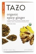 Tazo - Herbal Tea Caffeine Free Organic Spicy Ginger - 20 Tea Bags - $5.39