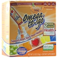 Image of To Go Brands - Healthy To Go Omega To Go Creamsicle Orange - 24 Packet(s)