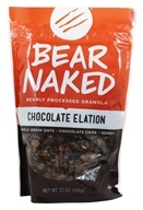 Bear Naked - Granola 100% Pure & Natural Chocolate Elation - 12 oz. Formerly Granola 100% Pure & Natural Heavenly Chocolate