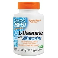 Doctor's Best - Suntheanine L-Theanine 150 mg. - 90 Vegetarian Capsules by Doctor's Best
