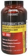 Champion Nutrition - Wellness Nutrition Performance BCAA's - 200 Capsules CLEARANCE PRICED - $15.15