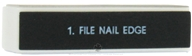 Honeybee Gardens - 4 Sided Nail File and Buffer (665013415038)
