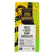 Endangered Species - Supreme Dark Chocolate Bar 72% Cocoa - 3 oz. by Endangered Species