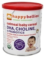 HappyFamily - HappyBellies Organic Oatmeal Cereal - 7 oz.