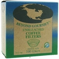 Beyond Gourmet - Unbleached Coffee Filters Basket Style - 100 Filter(s), from category: Housewares & Cleaning Aids