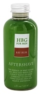 Image of Honeybee Gardens - For Men Aftershave Bay Rum - 4 oz.