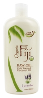 Organic Fiji - Organic Cold Pressed Coconut Oil Lotion for Face and Body Lavender - 12 oz. (formerly Virgin Coconut Oil) (833884001005)
