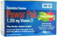 Trace Minerals Research - Electrolyte Stamina Power Pak Cherry Limeade - 32 Packet(s) by Trace Minerals Research