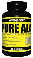 Primaforce - Pure Alpha Lipoic Acid 300 mg. - 180 Capsules by Primaforce