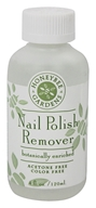 Honeybee Gardens - Nail Polish Remover Botanically Enriched - 4 oz. (formerly Odorless Polish Remover) by Honeybee Gardens