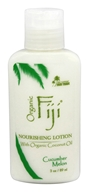 Organic Fiji - Nourishing Lotion Cucumber Melon - 3 oz.