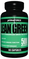 Image of Primaforce - Lean Green Potent Green Tea Extract 500 mg. - 60 Vegetarian Capsules