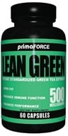 Primaforce - Lean Green Potent Green Tea Extract 500 mg. - 60 Vegetarian Capsules by Primaforce