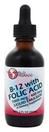 World Organic - B-12 with Folic Acid 1000 mcg/ 400 mcg - 2 oz.