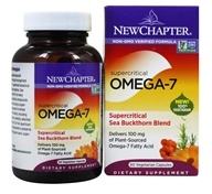 New Chapter - Supercritical Omega-7 Sea Buckthorn Blend - 60 Vegetarian Softgels