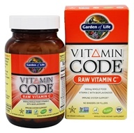 Garden of Life - Vitamin Code Raw Vitamin C - 60 Vegetarian Capsules, from category: Vitamins & Minerals
