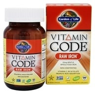 Image of Garden of Life - Vitamin Code RAW Iron 22 mg. - 30 Vegetarian Capsules