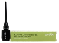 Suncoat - Sugar-Based Natural Liquid Eyeliner Chic Black - 0.23 oz. by Suncoat
