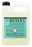 Image of Mrs. Meyer's - Clean Day Liquid Hand Soap Refill Basil - 33 oz.
