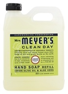 Image of Mrs. Meyer's - Clean Day Liquid Hand Soap Refill Lemon Verbena - 33 oz.