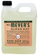 Mrs. Meyer's - Clean Day Liquid Hand Soap Refill Geranium - 33 oz. (808124131637)