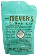Mrs. Meyer's - Clean Day Automatic Dish Packs 20 Loads Basil - 12.7 oz. - $7.18