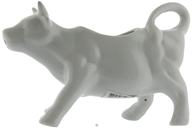 Harold Import - Porcelain Cow Creamer White - 6 oz. (781723822345)