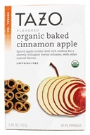 Tazo - Herbal Tea Caffeine Free Organic Baked Cinnamon Apple - 20 Tea Bags by Tazo