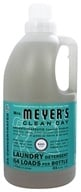Mrs. Meyer's - Clean Day Laundry Detergent Concentrated 64 Loads Basil - 64 oz.