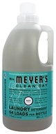 Image of Mrs. Meyer's - Clean Day Laundry Detergent Concentrated 64 Loads Basil - 64 oz.