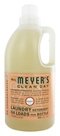 Image of Mrs. Meyer's - Clean Day Laundry Detergent Concentrated 64 Loads Geranium - 64 oz.