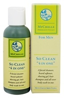 "MyChelle Dermaceuticals - So Clean ""4 In One"" For Men - 4.4 oz."