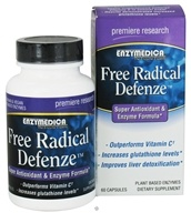 Enzymedica - Free Radical Defenze Super Antioxidant & Enzyme Formula - 60 Capsules by Enzymedica