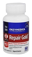Enzymedica - Repair Gold Bromelain, Papain, & Serrapeptase - 60 Enteric-Coated Tablets