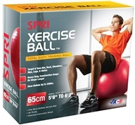 SPRI - Xercise Ball- Total Body Training with Pump and DVD-55 cm - 1 Ball(s) by SPRI