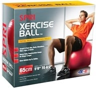 SPRI - Xercise Ball- Total Body Training with Pump and DVD-55 cm - 1 Ball(s)