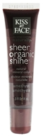 Kiss My Face - Sheer Organic Shine Natural Mineral Color Lip Gloss Amethyst - 0.5 oz.