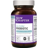 New Chapter - Organics Probiotic All Flora - 60 Vegetarian Capsules (727783001054)