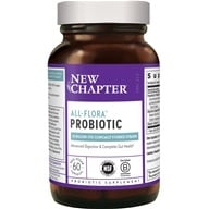 Image of New Chapter - Organics Probiotic All Flora - 60 Vegetarian Capsules