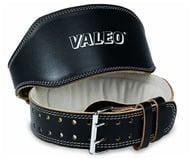 Valeo Inc. - Leather Lifting Belt 6 Inch-Black- Medium